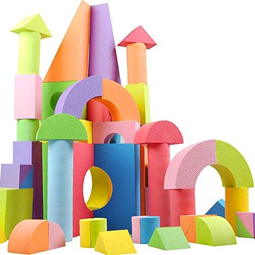 ?Kinder Bildungs Lernspielzeug weiche EVA Foam Bausteine der farbigen Ziegel Spielzeug Set