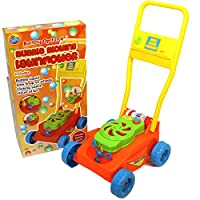 A to Z Bubble Mania Blowing Lawnmower