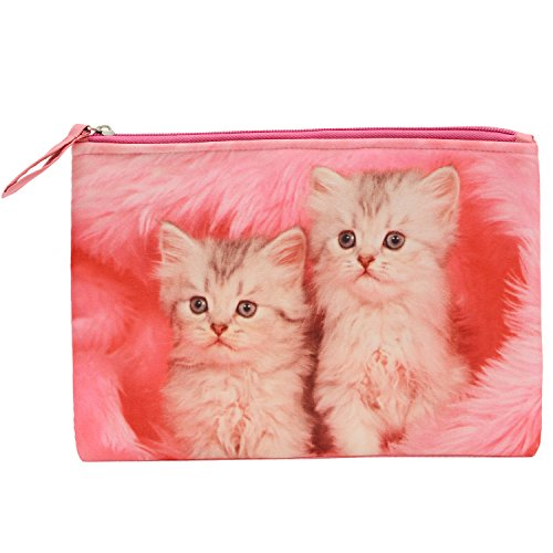 Bagaholics Multipurpose Wallet Pencil Pouch Travel ClutchMakeup Toilet Kit Handbag Organizer Medicine Bag Ideal Gift (88)  available at amazon for Rs.250