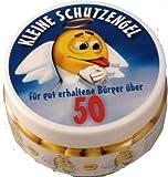 Kleine Schutzengel - Pillen zum 50. Geburtstag (Traubenzucker)