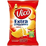 Chips vico extra craquantes natures 135g (Prix Par Unité) Envoi Rapide Et Soignée