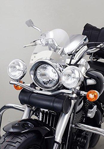 PUIG - 5261I : kit Cúpula roadster fijaciones a los tor color INOX : HARLEY DAVIDSON -> FXCWC SOFTAIL ROCKER C (-) FXDB DYNA STREET BOB (-) FXDC DYNA SUPER GLIDE CUSTOM (-) FXDF DYNA FAT BOB (-) TRIUMPH -> THUNDERBIRD (-)
