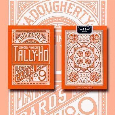 tally-ho-reverse-fan-back-orange-limited-ed-by-aloy-studios-uspcc-by-tally-ho