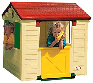 Little tikes 440q00060 jeu de plein air cabane - Maison de jardin little tikes colombes ...