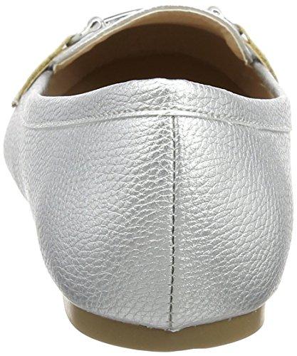New Look Damen Wide Foot Lingo Slipper Silberfarben