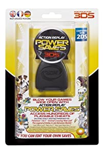 Action Replay 3DS Power Saves (Nintendo 3DS XL/3DS & 2DS)
