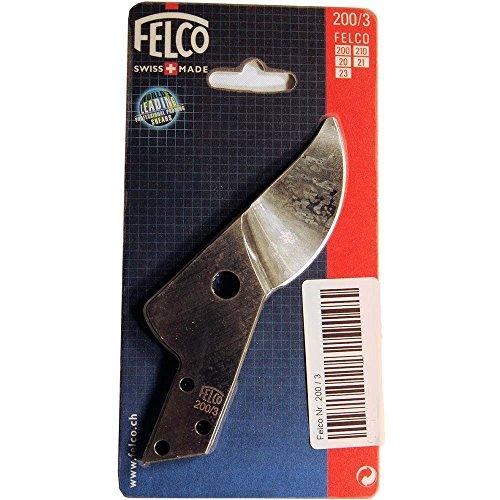 Felco 200/3 Lame de rechange N°200 avec coupe droite, Argent