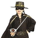 Kit Zorro Epée, masque et chapeau enfant