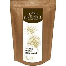 Sevenhills Wholefoods Semillas de Chia Blanco Crudas Orgánico 2kg