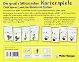 Der gro?e Silbenzauber: Kartenspiele: Silbenquartett und Silbenmagie