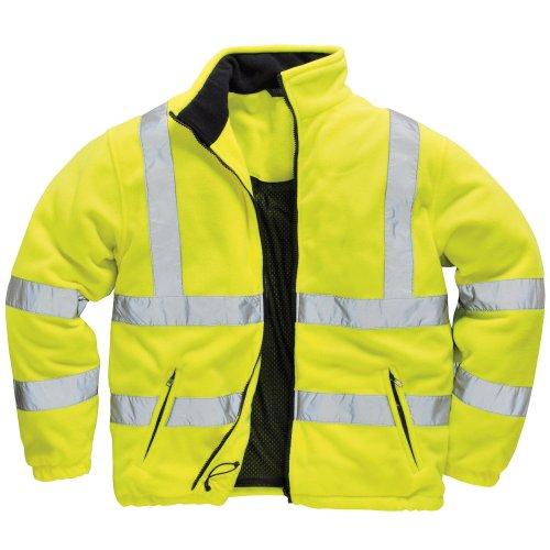 Portwest - Veste haute visibilité doublée polaire - Homme (XL) (Jaune)