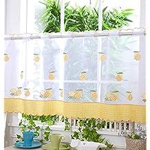 voile cortina de visillo paneles u d u cirtus limones