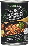 Free and Easy Organic Chick Pea Vegetable Curry 400 g (Pack of 3)