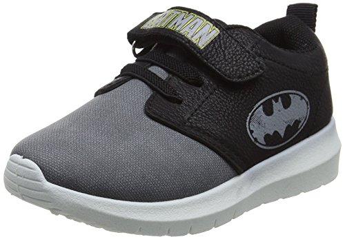Batman Herren Schuhe (Batman Jungen Bat Myron Laufschuhe, Schwarz (Black/Grey), 29)