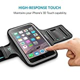 iPhone 6s Armband, Anker Sport Armband for iPhone 6 / 6s (4.7 inch) for Sports, Running, Jogging, Walking, Hiking, Workout and Exercise, Sweat-Free High-Quality Neoprene with Headphone and Key Slots and 2 Extra Cuttable Strips Bild 3