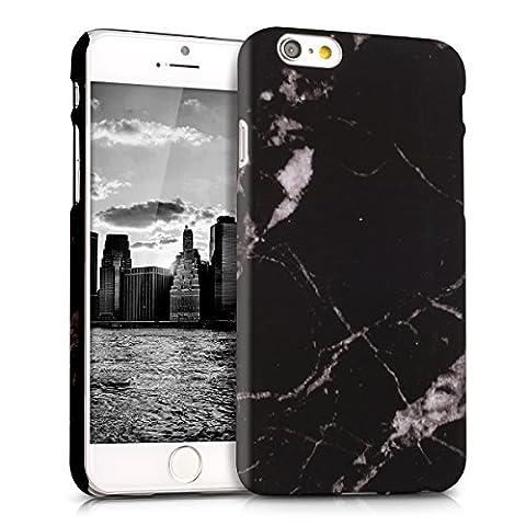 kwmobile Étui rigide Design marbre pour Apple iPhone 6 /