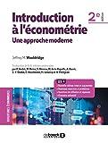 Introduction à l'économétrie - Une approche moderne - DE BOECK SUP - 17/07/2018