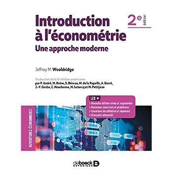 Introduction à l'économétrie : une approche moderne