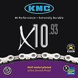 KMC X-10-93 Kette silber/grau 2014