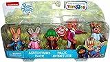 "Peter Rabbit -5 Figure Adventure Pack Multi-Figure Approx. 3"" Tall Figures Nick Jr."