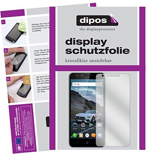dipos I 6X Schutzfolie klar passend für Doogee Y6C Folie Displayschutzfolie