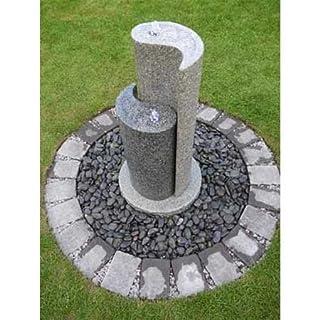 Aqua Yin Yang Granite Garden Water Feature