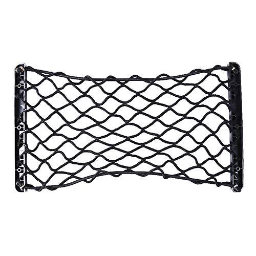 SEVENHOPE Schwarz Kofferraum Net Block Net Tasche Gepäck Festen Seitennetz (6 Schrauben)