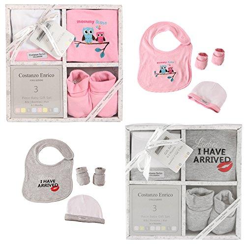 set-de-cadeau-bebe-costanzo-enrico-designer-de-3-unites-pour-les-garcons-et-les-filles-rose
