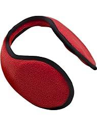 Ohrenschützer Farbe Rot die Ohrenwärmer schützen vor Kälte