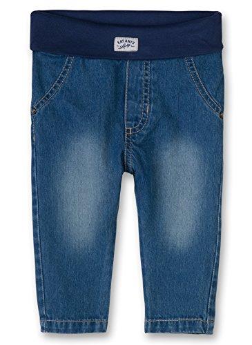 Sanetta Baby - Jungen Jeanshose 113560, Gr. 74, Blau (new blue 9438)