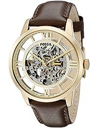 Fossil Townsman Analog Beige Dial Men's Watch - ME3043