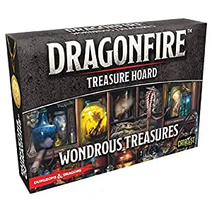 Catalyst Game Labs cat16050-de Tablero DragonFire: Wonderbook Rous Treasures