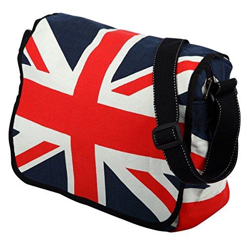 Union Jack England Flagge Umhänge-Schultertaschen Baumwolle (Jack Handtasche Union Damen)