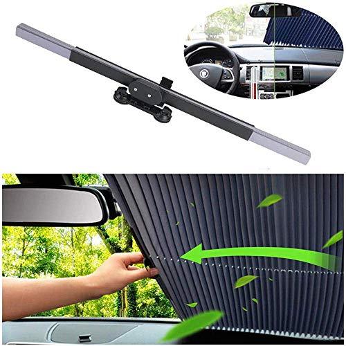 Mirage Retractable Windschutzscheibe Sonnenschutz, Universal Auto-Farbton-Abdeckung for die meisten Auto-LKW SUV (Color : Rear)