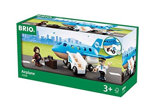 BRIO World 33306 - Blaues Flugzeug