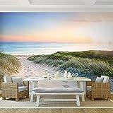 Fototapete Strand 308 x 220 cm - Vliestapete - Wandtapete - Vlies Phototapete - Wand - Wandbilder XXL - !!! 100% MADE IN GERMANY !!! Runa Tapete 9008010a