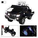 Actionbikes Motors Kinder Elektroauto Ford Ranger Original Lizenz Kinderauto Kinderfahrzeug Elektro Auto Spielzeug Für Kinder (Schwarz)