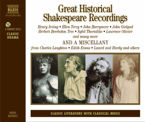 Great Historical Shakespeare Recordings by William Shakespeare (2000-08-15)