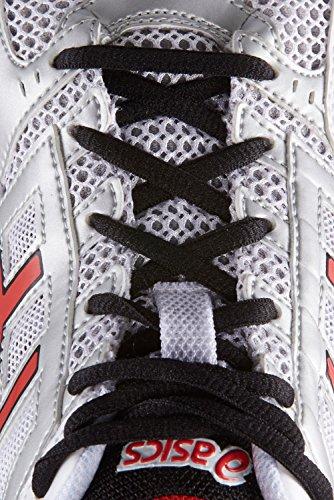 Asics Gel-Foundation 11 White / Red / Black white