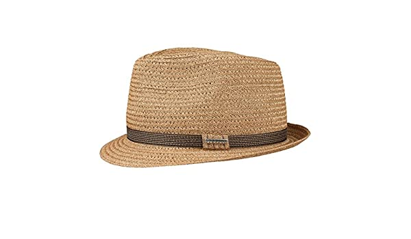 752a048d74d Stetson Selden Toyo Trilby Straw Hat Men ´s hat Summer hat (XL 60-61 -  Nature)  Amazon.co.uk  Clothing
