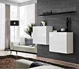 Juub Sideboard Kommode Schrank Anrichte Switch I Hochglanz PVC TOP Design Push Click - Switch I WS