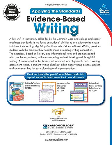 Evidence-Based Writing, Grade 5 (Applying the Standards)