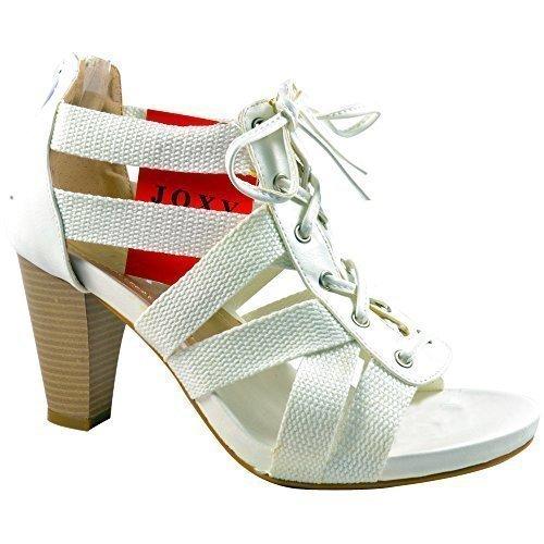 Unbranded (JOXY) , Sandales pour femme Blanc - blanc