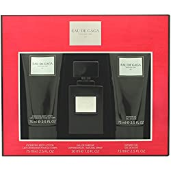 Lady Gaga Eau de Parfum Spray Trio set regalo per lei