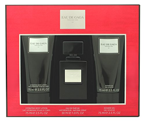 Lady Gaga Eau De Parfum Spray Trio Gift Set for Her