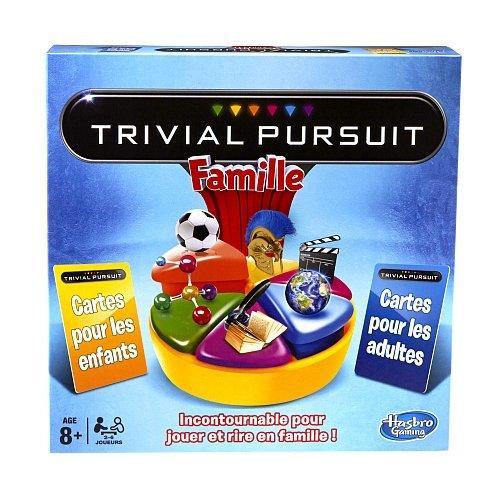 Hasbro - 730135960 - Jeu de Société - Trivial Pursuit Famille