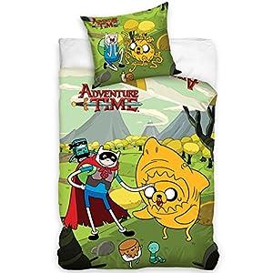 Adventure Time Einzelne Bettwäsche Cover und Kissenbezug Set