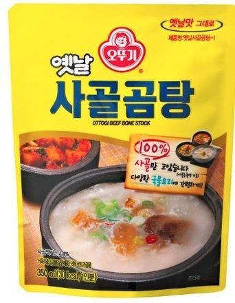 韓国 レトルトスープ オットギ サゴルコムタンスープ(牛骨スープ) 500g