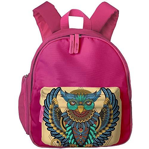 29f15b7da881 Ethnic Owl Animals Print Japanese Style Print Children's Fashion Backpack  School Bookbag 3.9 X 10.6 X