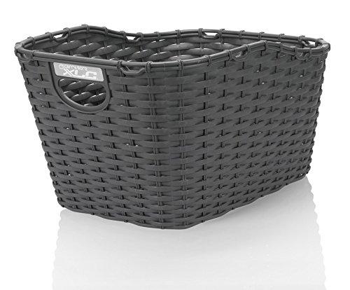 XLC Polyrattan Korb carry more für XLC Systemgepäckträger anthrazit (1 Stück) -